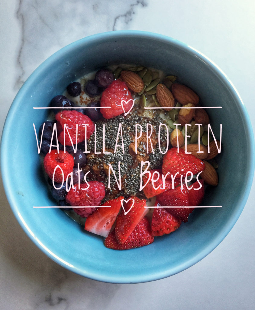 clean protein-packed oats full of fiber and antioxidants