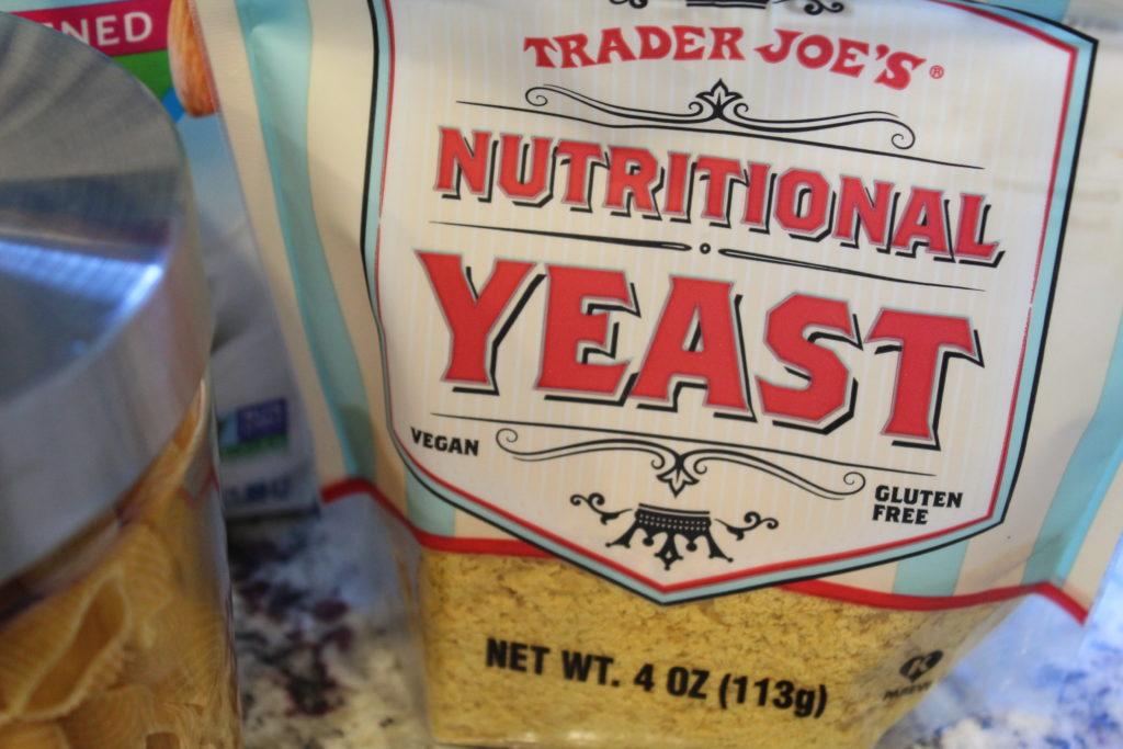 bag of nutritional yeast