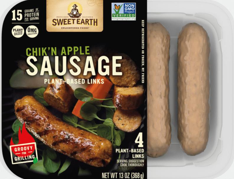 chik'n apple sausage
