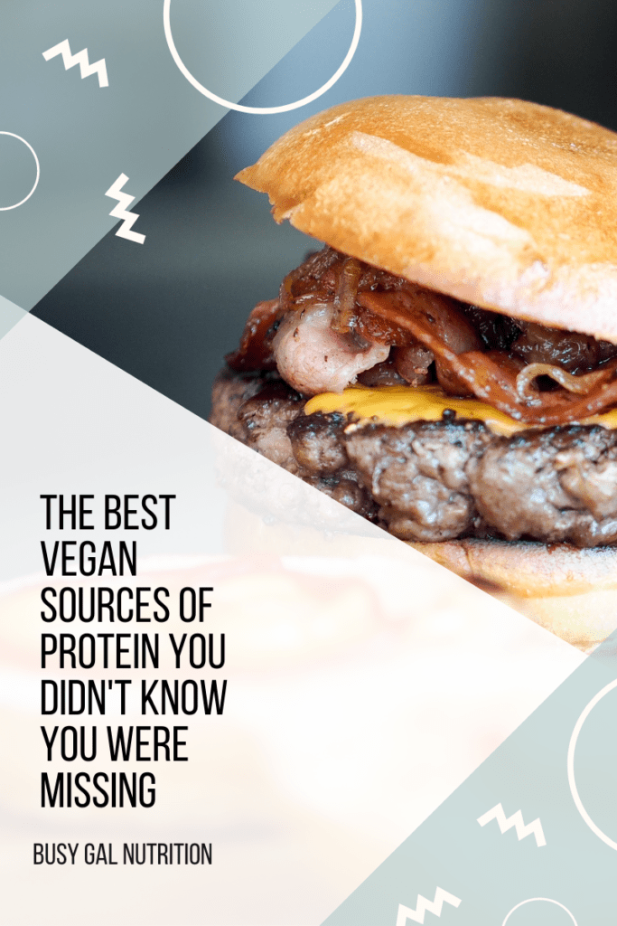 The best vegan sources of protein